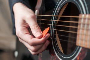 Folk-singing and acoustic jam